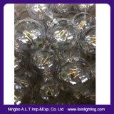 G125 vetro lampadina bassa del filamento di E27 e di 2With4With6With8With10W LED