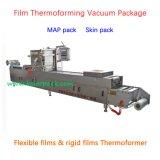 Machine d'emballage sous vide automatique des aliments Thermoformeuse