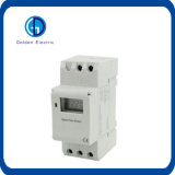 China Fornecedores 16A/250VAC LED de trilho DIN Interruptor do Temporizador digital programável