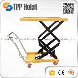 500kg main chariot manuel hydraulique double gros Table élévatrice à ciseaux