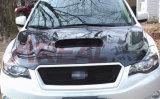 Subaru XVのためのカーボンフードのボンネット