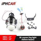 L'indicatore luminoso di nebbia impermeabile IP67 di Iphcar HA NASCOSTO il proiettore NASCOSTO '' /3.0 '' della lampada 2.5 della nebbia con l'occhio del diavolo universale per tutta la lampada della nebbia del Bi-Xeno NASCOSTA automobile