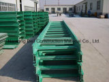 Cable Tray, Fiberglass (FRP) Cable Tray, Anti - Slip Fiberglass Pultursions.