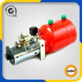 élément de paquet d'énergie hydraulique de C.C 12V avec la pompe à main et le moteur électrique