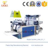 El paquete de fruta HDPE bolsa de plástico que hace la máquina usada
