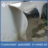 Fábrica de la fabricación del rectángulo té del acero inoxidable de plata Tabla Mueble de casa