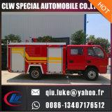 4 * 2 Camion de lutte contre l'incendie en mousse de réservoir d'eau