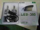 2016 New LED Headlight, 3800lm, para substituir HID e farol de halogéneo
