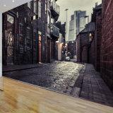 Libérer l'impression parfaite de peintures murales de mur de vinyle de qualité de modèle