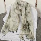 Nouvelle Collection Fashion Tie-Dyed châle de viscose pour les femmes (HP04)