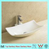 Novo design de casa de banho de alta qualidade irregular do dissipador de cerâmica