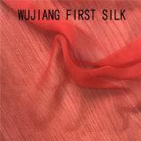 5.5mm 100%の絹のしわの軽くて柔らかいファブリック、絹のヨーヨーファブリック、絹のしわGgtのしわのジョーゼット絹のファブリック
