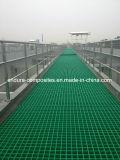 FRP/GRP gevormde Grating/de Weerstand Grating/Projects/Wastewater/Corrosion van Figerglass Grating/Plastic