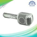 Altofalante portátil sem fio de Bluetooth do microfone retro de Karaok mini