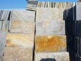 Ardósia de pedra natural do quartzito da cor para pavimentar/revestimento do assoalho/parede