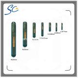 1.25 * 7 mm, 8 mm * 1.4, 2.12 * 12mm animal de compañía perro Microchip Tag