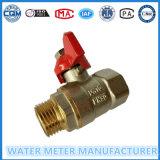 Basisrecheneinheits-Messingkugelventil für Wasser-Messinstrument-Rohr-Zeile