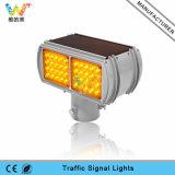 Indicatore luminoso d'avvertimento solare infiammante giallo Integrated di sicurezza stradale del modulo