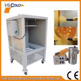 Cabina di spruzzo a resina epossidica elettrostatica del rivestimento della polvere per i mozzi di rotella