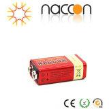 De super Op zwaar werk berekende Batterij van het Zink van de Koolstof van Batterijen 9V 6f22