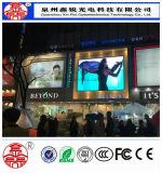 Haut de la publicité numérique efficace P10 écran LED de l'écran couleur étanche