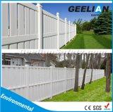 ビニールのプライバシーの庭およびヤードの塀