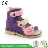 As sapatas de saúde das crianças calçado ortopédico Velcro Calçados terapêuticos