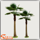 판매 인공적인 종려 잎 팬 화분에 심는 나무를 위한 원예식물