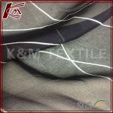 Ткань двойной сатинировки мягкого света печати Silk шифоновая