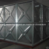 熱浸された1.22*1.22m電流を通されたボルトで固定された鋼鉄パネル水貯蔵タンク
