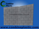 벽 훈장 물자 3D 거품 벽돌 또는 위원회