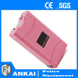 ピンクのCamoの女性の自衛はスタン銃(800PC)を