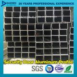Perfil de alumínio personalizado da extrusão do alumínio do indicador 6063 da porta da segurança
