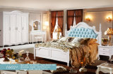 Штаты Америки стиле, с одной спальней твердые деревянные кровати мебель (1602)