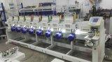 Wonyo 12のヘッド平らなビードのスパンコールのシュニールセリウムの証明の束ねる機能刺繍機械