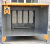 Estande de pintura eletrostática em pó com controle PLC