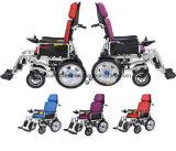 El sillón de ruedas de múltiples funciones puede plegable