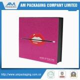 空の装飾的なパレットの目は及び包装ボックス贅沢影のクラムシェル赤面する