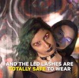 2017 última moda cílios LED Design Superior LED piscando Eye chicotadas