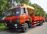 4X2 트럭에 의하여 거치되는 기중기 8tons 구조차 트럭