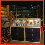 Contador de Exibição de cosméticos de madeira Prateleira Exibição Cosméticos