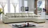 黒い革ソファーの現代ホーム家具(HX-FZ024)