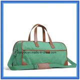 Bolso de mano impermeable del recorrido de la lona de la alta calidad, bolso práctico del equipaje del viaje de negocios con la correa ajustable del hombro