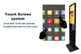 디지털 Displaytouchscreen 모니터 간이 건축물을 서 있는 19 32 인치 LCD 접촉 스크린 위원회 지면