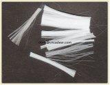 高い粘着性の未加工白いコンクリートPPの単繊維のファイバー
