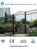 熱い高品質の販売によって電流を通される鋼鉄装飾的な庭ゲート