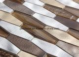 Mosaico de aluminio irregular del metal de la buena calidad