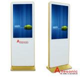 10 85 인치 디지털 LCD 패널 디스플레이 접촉 스크린 모니터 인조 인간과 Windows 간이 건축물