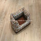 새로운 디자인 꽃잎 모양 호화스러운 도매 고양이 침대 또는 애완 동물 굴 또는 개 침대