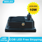 Indicatore luminoso di inondazione esterno freddo di bianco 10W IP65 LED della lampada impermeabile